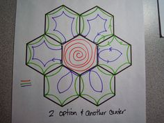 Flower Gardening Design Through Rose-colored Trifocals!: Quilting Designs for Grandmother's Flower Garden -- Part II Hand Quilting Patterns, Quilting Stencils, Machine Quilting Designs, Free Motion Quilting, Longarm Quilting, Tatting Patterns, Quilting Ideas, Quilt Festival, Nine Patch