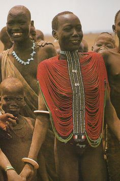 dinka woman smiling
