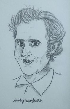 portrait of Andy Kaufman |art by D. Świątek