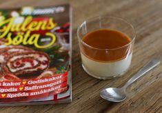 Cheesecakepannacotta med saltkolaspegel