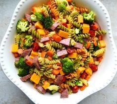 Italian Pasta Salad | stuckonsweet.com - Stuck On Sweet