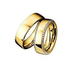 Trauringe Infinity DR880370/HR881370 - Gelbgold