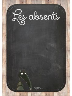 Fichier PDF Absents-Présents.pdf Absent, Petite Section, High School Spanish, Classroom Organization, Etiquette, Back To School, Zip Around Wallet, Presents, Teaching