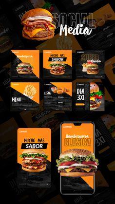 Food Graphic Design, Food Menu Design, Food Poster Design, Instagram Feed Planner, Fruit Splash, Affinity Photo, Food Advertising, Menu Restaurant, Social Media Design