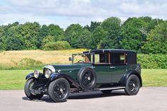 1929 Bentley 6.5 liter H.J. Mulliner Sedanca de Ville