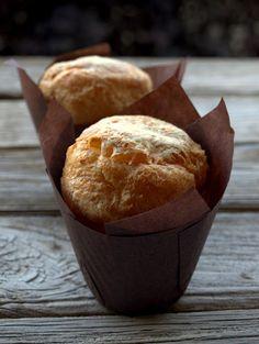 Muffins de parmesano