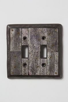 Rustic Looking Light Switch Cover Decorative Covers Plate
