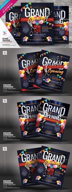 Grand Opening Flyer Templates #musical #glow #FlyerDesign #product #discounts #BestFlyers #opening #fashionflyer #nightclub #model #comingsoon #FlyerTemplates #woman #store #dj #flyer #deco #leopard #ladies
