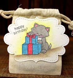 Newton's Nook Designs Jennifer's Birthday Blog Hop!! Newton's Birthday Bash Stamp set by Newton's Nook Designs