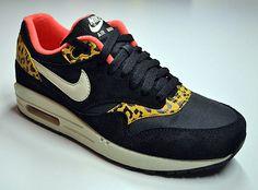 nike schoenen dames nike air max 1 dames leopard