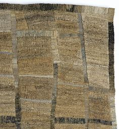 Sue Lawty, artist and (tapestry) weaver. A section from Terra