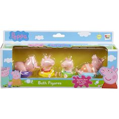 Peppa Pig Bath Figures