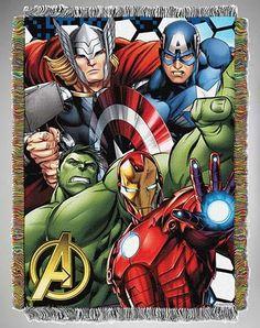 """The Avengers """"Best Team"""" Throw Blanket"""