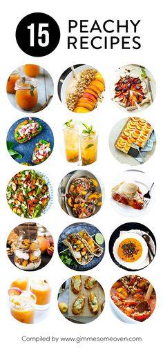 15 Peachy Recipes