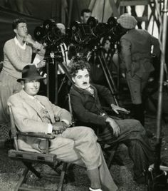 Douglas Fairbanks and Chaplin
