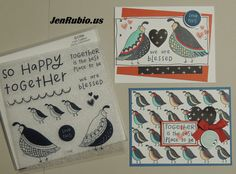 THANK YOU for stopping by to enjoy our   April Stamp of the Month Blog Hop   featuring this month's SOTM:   Flock Together S1704   If you'v...