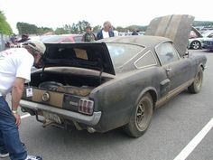 The ultimate barn find? 1966 Ford Mustang fastback Shelby GT 350 H (Hertz rental version)