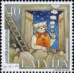 catsonstamps:  Latvia, 2001.   Today is a significant date, because on September 24, 2014 I started this blog about cats on stamps. And this was my first post.Thanks to all my followers and to all who likes and reblogs my posts! I'm happy to know how many people share my love of cats and stamps :)