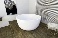 Aquatica PureScape 720M Round Freestanding Solid Stone Surface Bathtub – Gorgeous Tub