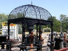 Lucan Architectural Salvage Antiques Lucan Ontario Canada Architectural Canada, Antique Market, Architectural Antiques, Reno, Ontario, Gazebo, Places To Go, Things To Do, Fair Grounds