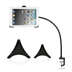 BESTEK Universal Desktop/Bed Clamp Mount Holder for iPad, iPad Air, iPad Mini 2/3/4, iPad 2/3/4 - BESTEK® New Upgraded iPad Clip Holder Stand  • Devoted to present a better solution for you to make your ipad more useful.  • Providing best quality products of newly-fashionable and superior with professional customer service and end-users.   3-IN-1 iPad Clip Holder Set  • 3 clips specially desi... - http://buytrusts.com/giftsets/tablet-accessories/bestek-universal-deskto