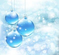 Free Blue Christmas Card Background #freebies