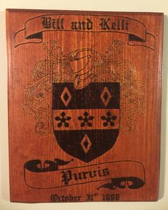 Family Crests Family Crest Plaques Coat of by BurningImpression