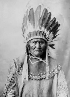 A proud leader and Apache warrior - Geronimo!
