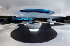Audi Future Exhibit Park, IAA 2007. Mutabor Interior Design Exhibition, Exhibition Stand Design, Exhibition Display, Exhibition Space, Museum Exhibition, Futuristic Interior, Futuristic Architecture, Interior Architecture, Interior And Exterior