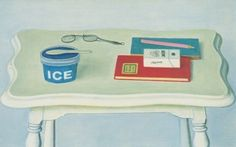 長谷川りん二郎《アイスクリーム》1981年