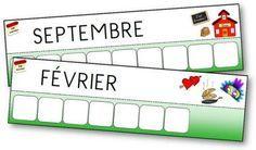 Voici un nouvel atelier des mots pour apprendre à écrire le nom de chaque jour de la semaine et de chaque mois de l'année. écriture jours de la semaine