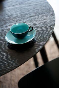 AINO, Ruokapöytä Ø100cm musta