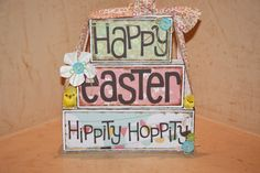Easter/Easter Blocks/Easter Block Stacker/Easter by Tweetfeathers, $45.00