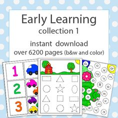 early learning collection 1 download for preschool and kindergarten