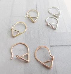 Sleeper Earrings, interesting idea