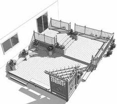 Patio piscine hors terre patio deck art designs amenagement exterieur pinterest photos - Amenagement piscine hors terre ...