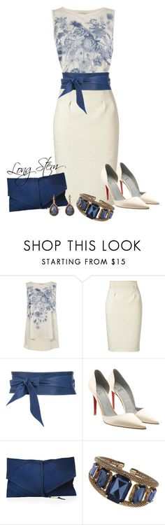 """""""8/16/14"""" by longstem ❤ liked on Polyvore featuring AllSaints, Kenzo, Christian Louboutin, Miss Selfridge and Lori's Shoes"""