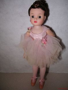 """50's 16"""" Madame Alexander ELISE Pink Ballerina Orig"""