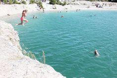 Blå lagunen/Blue lagoon, Gotland, Sweden.