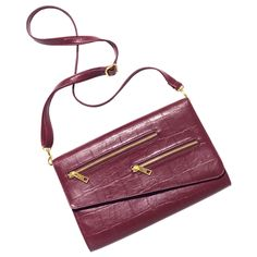 { See All MARK AVON Products } mark. Push the Envelope Bag reg.  $38.00 With chic croc embossing plus a detachable shoulder strap, this enve...