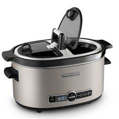 KitchenAid® Architect Series 6-Quart Slow Cooker with Easy Serve Lid 1,900 reward miles