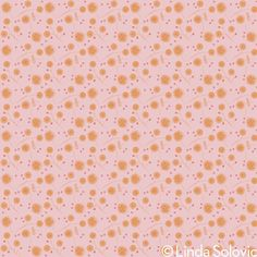 Thumbprint Flowers Pattern Collection by Linda Solovic, via Behance