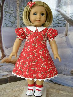 American Girl  1930s Merry Christmas for Kit  by dolltimes on Etsy, $59.00