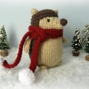 Knit Hedgehog Amigurumi Pattern  - via @Craftsy