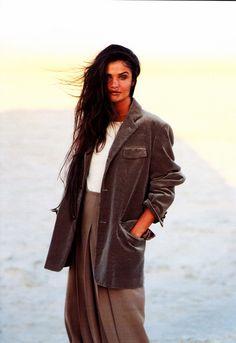 Marie Claire Italia October 1991 Questione di Stile Ph: Fabrizio Ferri Model: Helena Christensen