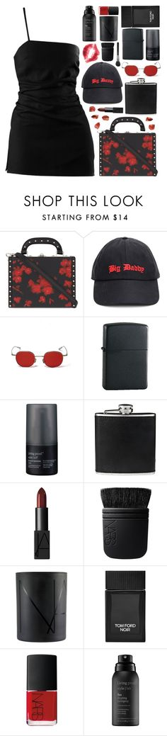 """object of desire"" by s-ensible ❤ liked on Polyvore featuring Bertoni, Vetements, Zippo, Living Proof, BLACK BROWN 1826, NARS Cosmetics and Tom Ford"