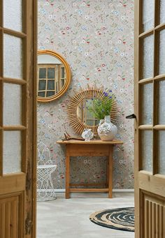 Picture of Spring to Life wallpaper khaki