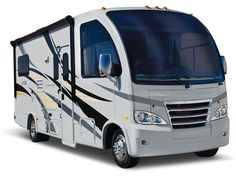 Bigger than an SUV, Smaller Than a Traditional Class A, Thor Motor Coach Introduces a Totally New Genre: The RUV Introducing a new model, or even a new brand to the RV industry would seem … Thor Rv, New Thor, Small Motorhomes, Class A Motorhomes, Travel Trailer Living, Travel Trailers, Vegas, Class A Rv, Small Rv