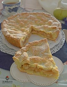 Apple Pie vert - Mind Cucina e Gusto Fruit Pie, Apple Fruit, Apple Pie, How To Cook Brats, Cooking Oatmeal, How To Cook Zucchini, Cooked Cabbage, Cooking Bread, Torte Cake