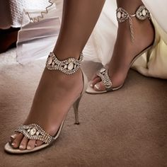 Glamorous Shoes For Your Dream Wedding - Bridal Trends 2011 - Weddings in Nigeria